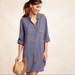 Anthropologie Cloth & Stone Button Up Dress